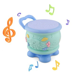 ❃❣☆Cute Baby Toys Rotary Drum Music Hand Drum Beat Instruments Christmas Gift