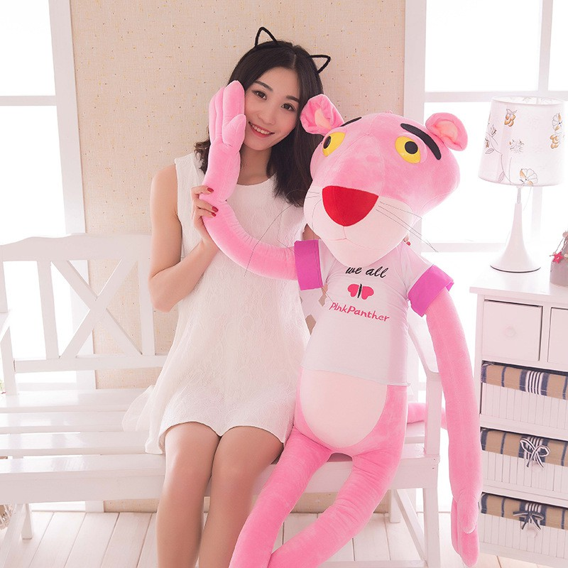 gấu bông báo hồng có áo