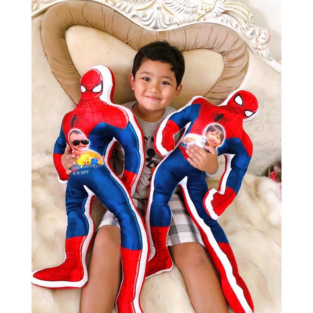 Người nhện Spiderman nhồi bông in ảnh