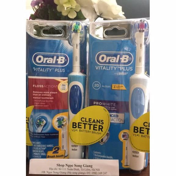 Oral B Bàn Chải Đánh Răng Điện