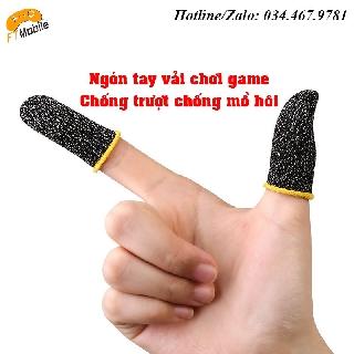 Ngón tay vải chơi game chống trượt chống mồ hôi - Siêu nhạy thumbnail
