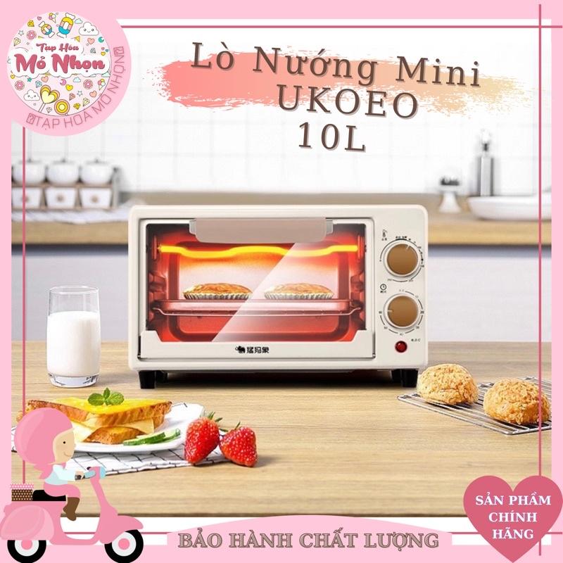 Lò nướng mini Ukoeo chính hãng dung tích 11 lít [Có sẵn - giao hàng ngay lập tức] - lò nướng bánh gia đình