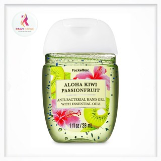 Gel rửa tay khô Bath & Body Works Aloha Kiwi Passionfruit 29ml thumbnail