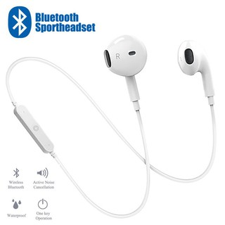Tai nghe thể thao đeo cổ Bluetooth S6 dành cho iPhone/Android