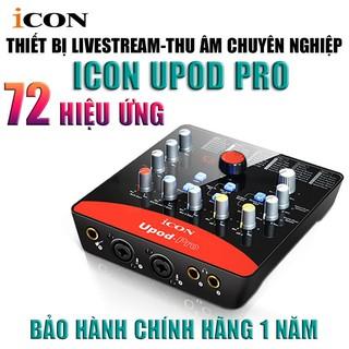 [Freeship 50k Toàn Quốc]Sound card thu âm /livestream/karaoke ICON Upod Pro