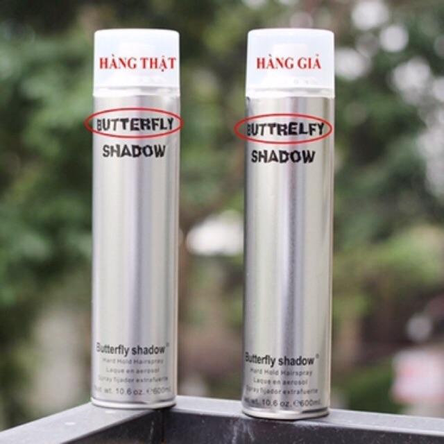 [Chính Hãng] Gôm Xịt Tóc ButterFly Shadow 600ml ,320ml,150ml - Hàng Nội Địa Trung Quốc