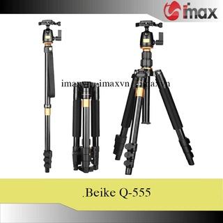 Chân máy ảnh Tripod Beike Q-555 thumbnail