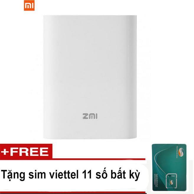 Bộ phát WiFi 3G,4G di động Xiaomi ZMI MF855 - Kiêm pin sạc dự phòng + tặng sim Viettel 4G dung lượng - 2732866 , 373282688 , 322_373282688 , 1290000 , Bo-phat-WiFi-3G4G-di-dong-Xiaomi-ZMI-MF855-Kiem-pin-sac-du-phong-tang-sim-Viettel-4G-dung-luong-322_373282688 , shopee.vn , Bộ phát WiFi 3G,4G di động Xiaomi ZMI MF855 - Kiêm pin sạc dự phòng + tặng sim