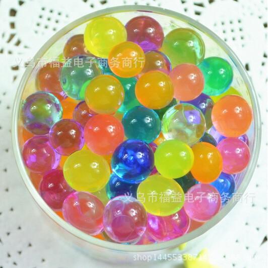hạt nở nhiều màu -Hạt nở Nhật Bản Làm Slime Hoặc Trồng Cây gói 100gram mã GHK39