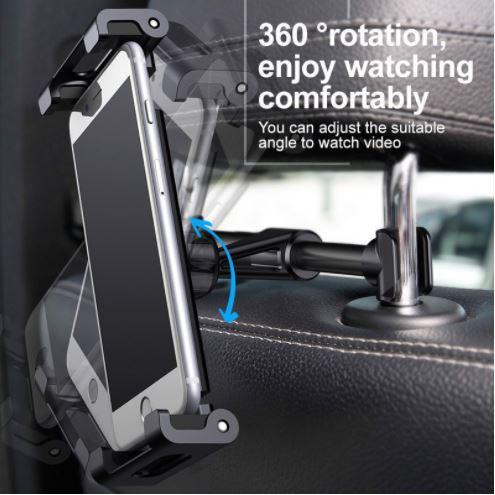 Giá đỡ điện thoai, iPad, máy tính bảng gắn ghế sau xe hơi Eardorm ET-EH98
