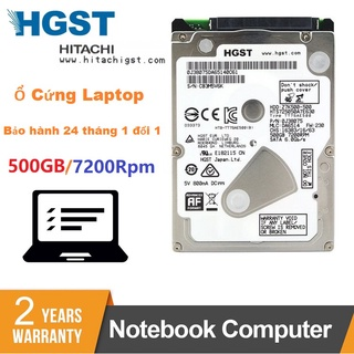 Ổ Cứng HDD Laptop 500GB HGST 2.5 inch 7200rpm Hitachi Chính Hãng - Bảo hành 24 tháng 1 đổi 1 thumbnail