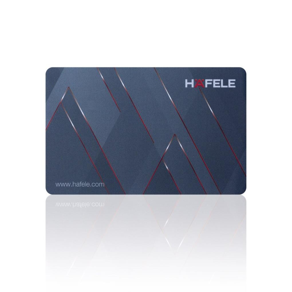Thẻ từ khóa điện từ HAFELE 917.80.739 chính hãng - loại to (thẻ ATM)