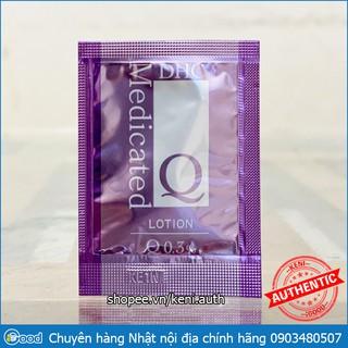 Sample Nước hoa hồng siêu năng DHC Q Lotion 0.3% gói 3ml thumbnail