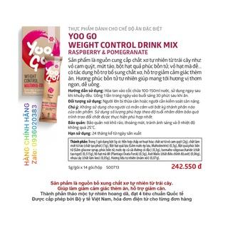 Thực phẩm trợ bổ sung chất xơ, hỗ trợ giảm cảm giác thèm ăn. YOO GO WEIGHT CONTROL, Siberian thumbnail