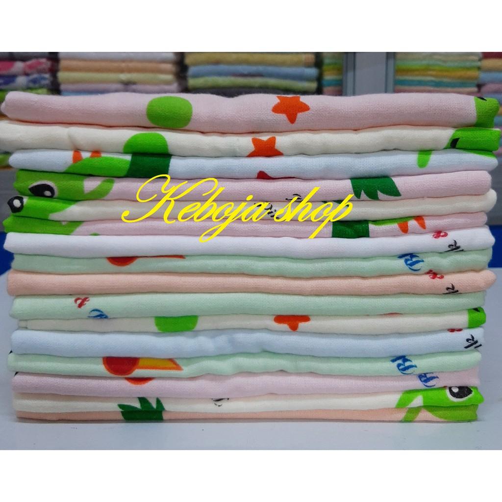 Khăn gạc cotton cao cấp, khăn xô 2 mặt, khăn trẻ em hình con ong 40x75