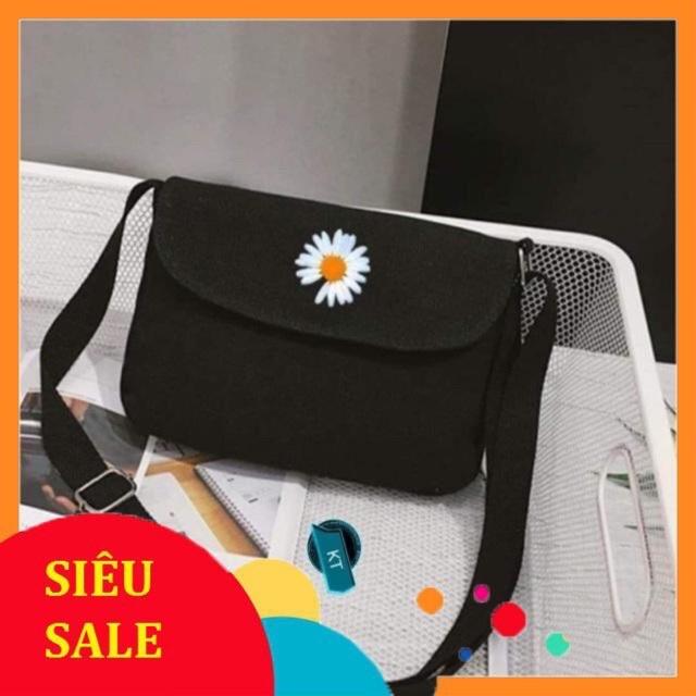 [TRỢ GIÁ] Túi đeo chéo HOA CÚC Thời trang kiểu mới hình bông hoa of boy or girl KITI SHOP