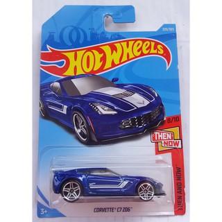 Xe mô hình Hot Wheels Corvette C7 Z06 FKB16