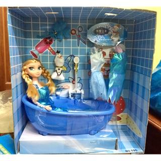 Phòng tắm búp bê công chúa Elsa