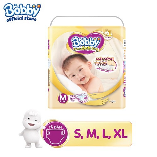 [Toàn quốc][Đủ size] Tã dán cao cấp Bobby Extra Soft...