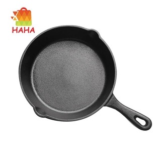 Cast Iron Non-Stick Skillet Frying Pan for Gas Induction Cooker -26Cm