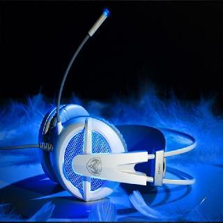 Tai nghe USB sound 7.1 chụp tai chuyên game Somic G938 (Đen, Trắng)