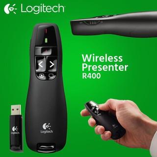Bút trình chiếu Logitech R400 , bút chỉ tia laser cho máy chiếu thumbnail