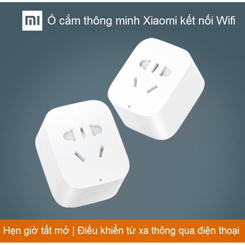 [Chính Hãng] Ổ cắm ổ sạc thông minh Xiaomi kết nối Wifi