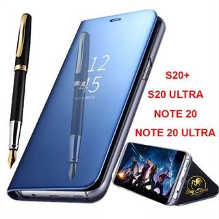 Bao da tráng gương cho Samsung Galaxy S20+, S20 ULTRA, NOTE 20, NOTE 20 ULTRA