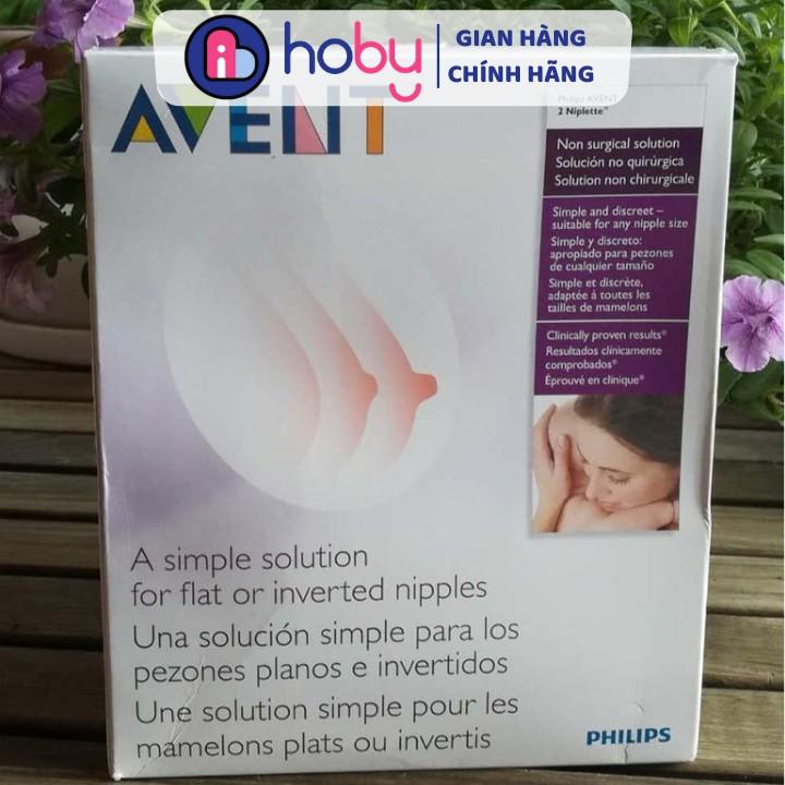 Dụng cụ điều chỉnh đầu ngực NIPLETTE PHILIPS AVENT SCF152/01 chính hãng - Điều trị tụt đầu ti AVENT NIPLETTE