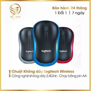 Chuột Máy Tính Không Dây Wireless Logitech Chuột Laptop Ko Dây Chính Hãng OHNO Việt Nam thumbnail