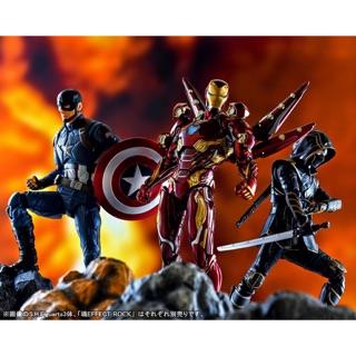 Mô hình nhân vật Advengers siêu anh hùng IronMan MK50 Nano 2