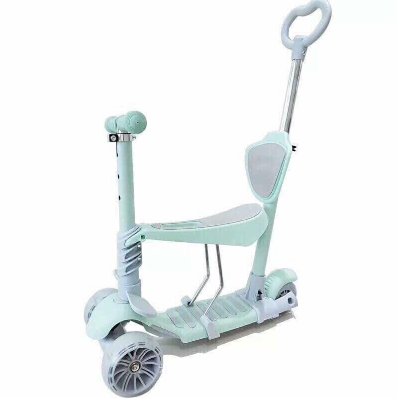 xe scooter 3 trong 1 làm quà cho bé cực yêu có kèm chong chóng