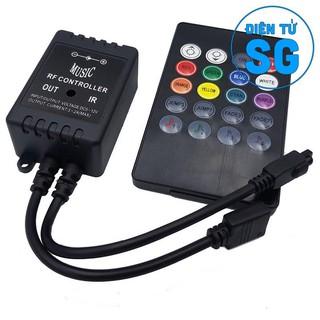 Bộ điều khiển hiệu ứng led RGB 5050 MUSIC IR CONTROLLER – 5O2Q
