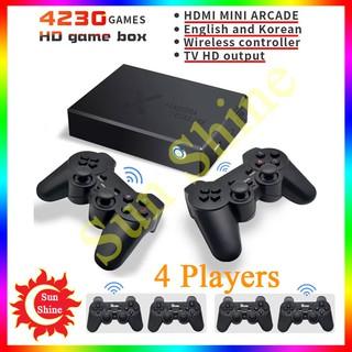 Máy chơi game điện tử 4 nút cầm tay không dây - Kết nối HDMI, VGA thoải mái chơi game trên tivi và máy tính thumbnail
