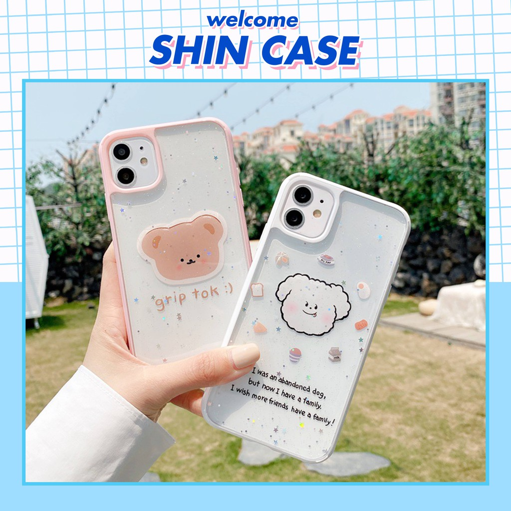 Ốp lưng iphone Couple Cartoon 5/5s/6/6plus/6s/6s plus/6/7/7plus/8/8plus/x/xs/xsmax/11/11pro/11 promax - Shin Case