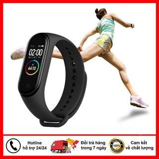 ĐỒNG HỒ THÔNG MINH THỂ THAO M4 KẾT NỐI BLUETOOTH, chống nước IP67, hỗ trợ đo nhịp tim, huyết áp và đo số bước chân