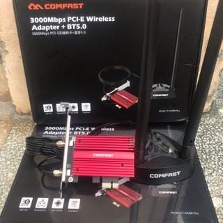 Card wifi AX200 Dành cho máy tính bàn Comfast AX200 Plus