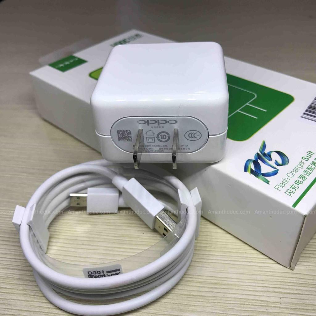 Bộ sạc nhanh Oppo R15 sạc nhanh Vooc (chân micro)
