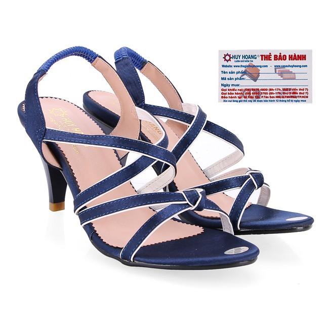 Giày nữ Huy Hoàng màu xanh -A