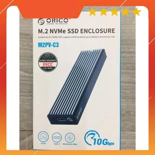 Box ổ cứng SSD M2 NVME M.2 SATA to USB Type-C làm ổ di động ORICO M2PV-C3 M2PF-C3 thumbnail