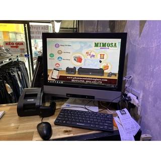 Trọn bộ máy tính tiền shop , tạp hóa, vpp