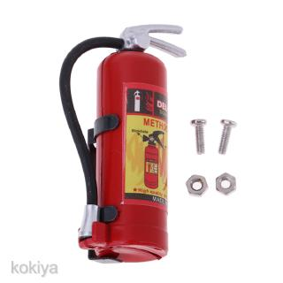1:8 1:10 RC Vehicle Model Fire Extinguisher for Axial SCX10 D90 Body Decor