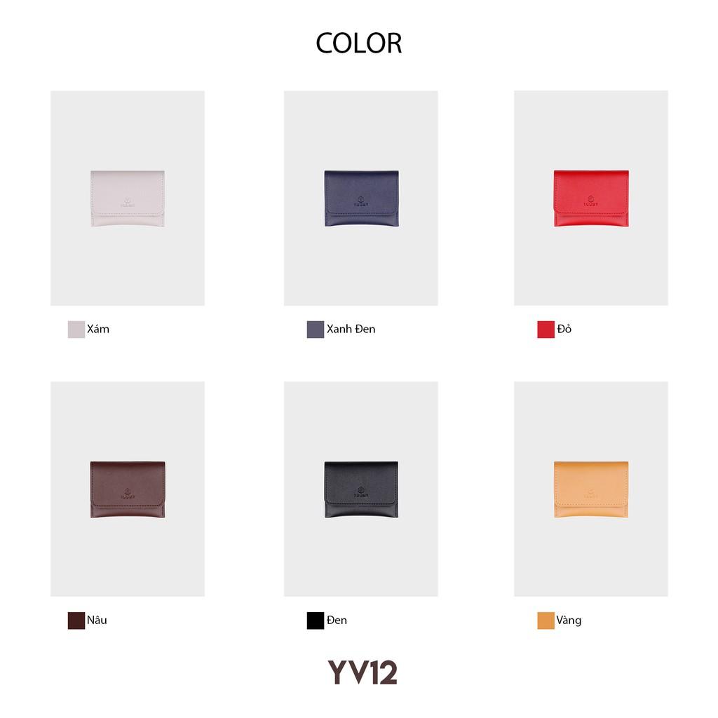 Ví nữ cầm tay thời trang YUUMY YV12 nhiều màu