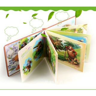 Album tranh ghép gỗ hoạt hình cho bé (mẫu ngẫu nhiên)