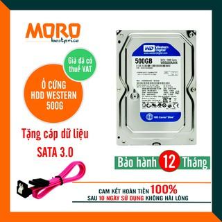 [Mã ELMS05 giảm 5% đơn 300K] Ổ cứng HDD WD Blue 500GB - Bảo hành 12 tháng 1 đổi 1