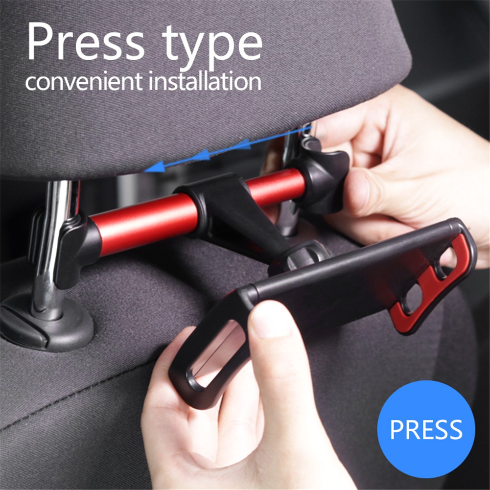Car Headrest Bracket Rear Seat Mobile Phones Tablets Holder Stand