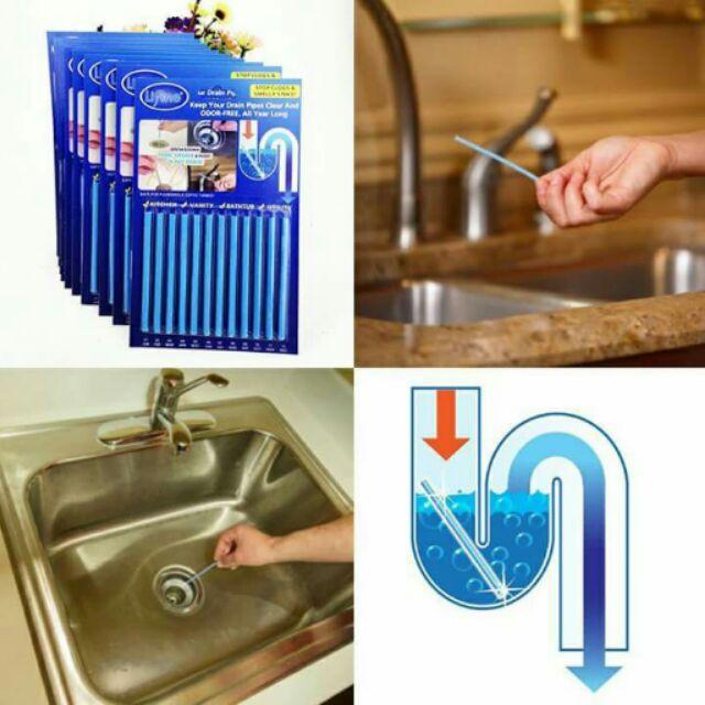 SANI STICK - Thanh tiêu cặn ống thoát nước