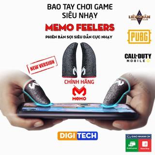 Memo Feelers GT3   Bao tay, găng tay chơi game PUBG, Liên minh, chống mồ hôi, cực nhạy, không xù vải