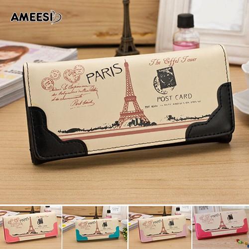 👜👝AMEESI Women Clutch Purse Wallet Card Holder Handbag Bag
