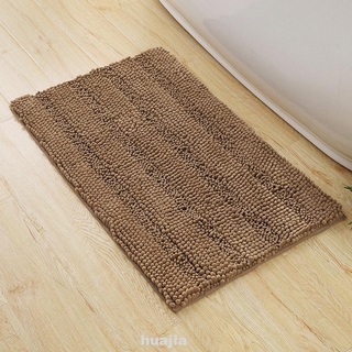 Floor Living Room Bedroom Washable Indoor Door Bathroom Supplies Fluffy Chenille Bath Mat